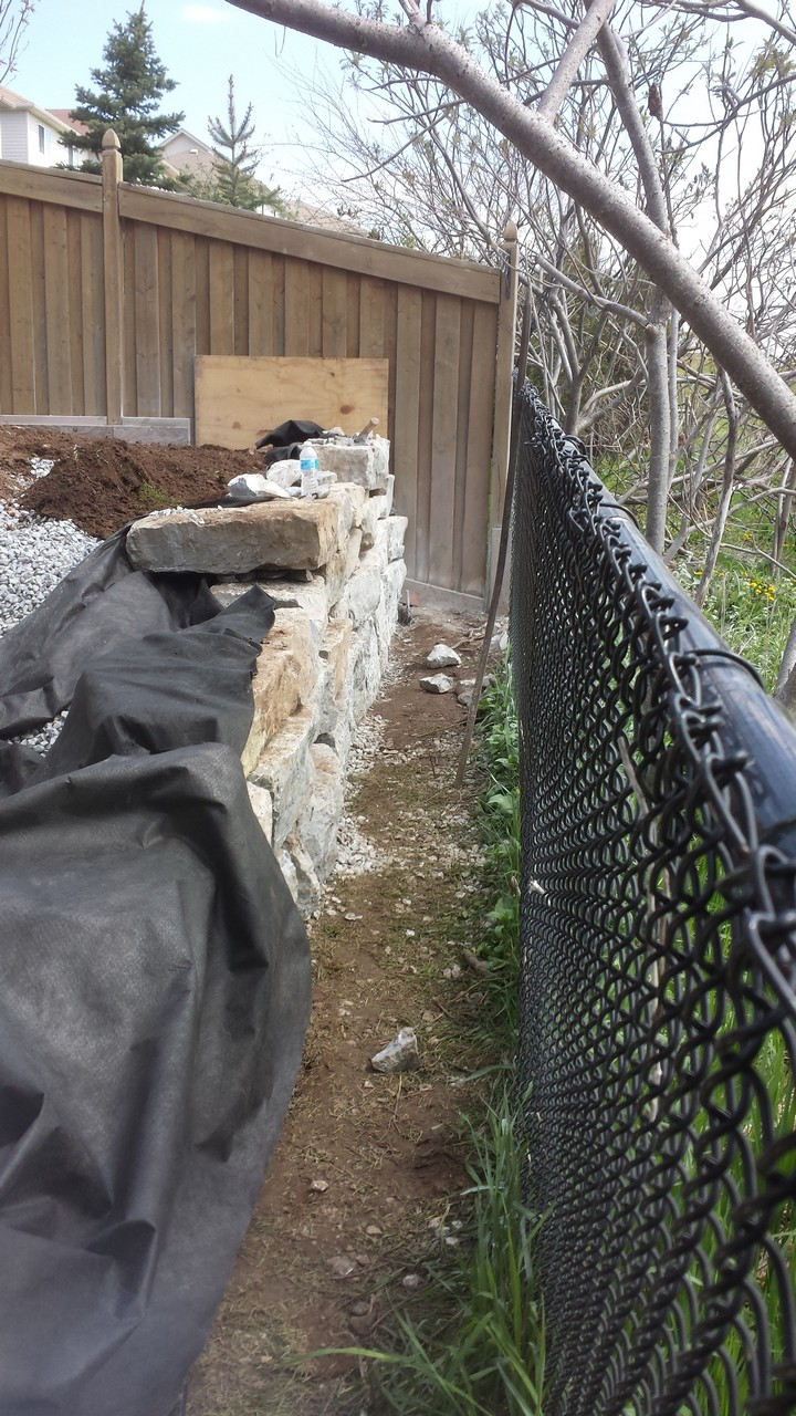 Backyard Retaining Wall | Solid Concrete Solutions
