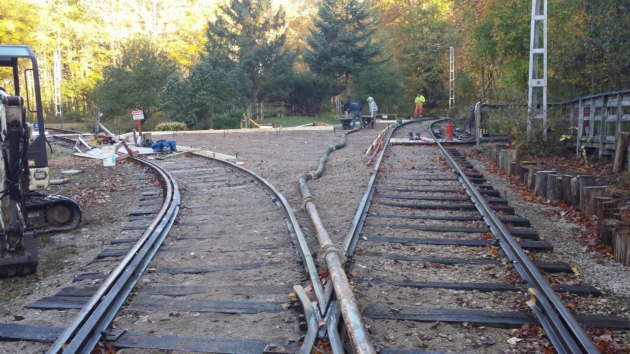Train Yard Concrete Pad Solid Concrete Solutions