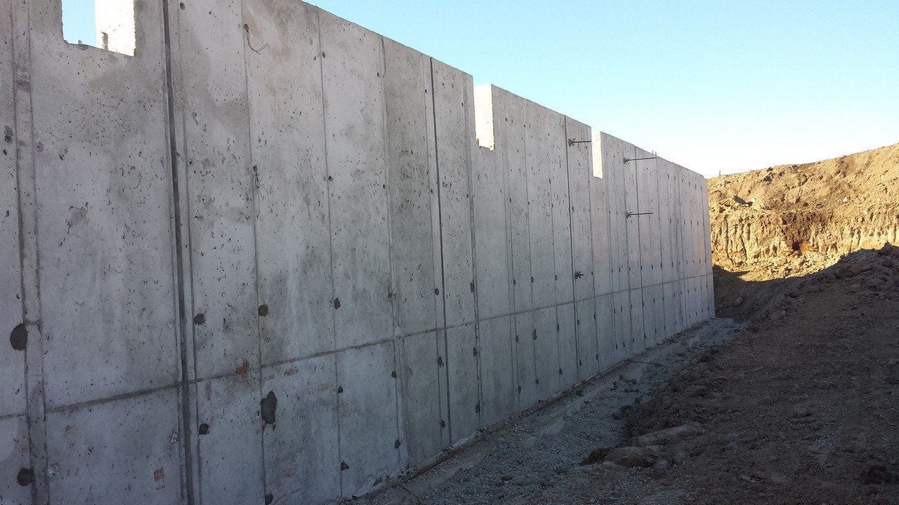 Religious Institution Cast In Place Walls Solid Concrete