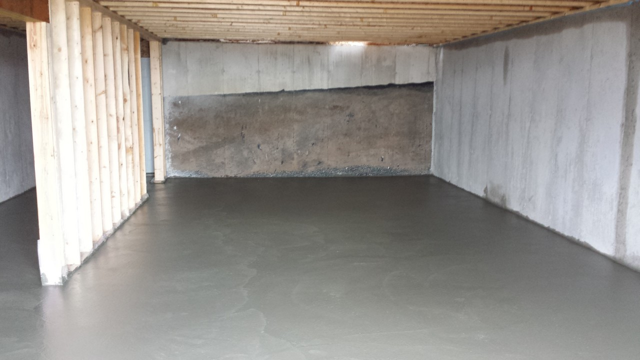 Basement Floor Pour Solid Concrete Solutions